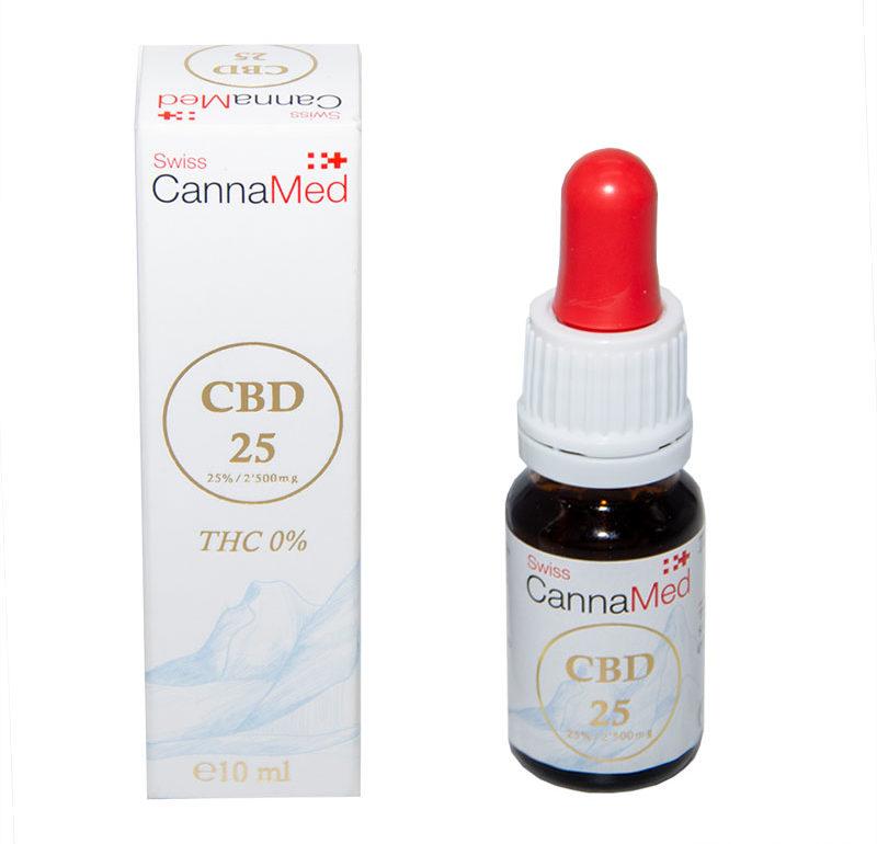 cbd oil 25 swiss canna med
